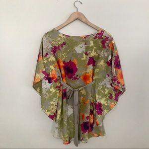 {liz lange for target} floral top